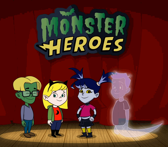 Monster Heroes: Vampires and Veggies from Novel Effect